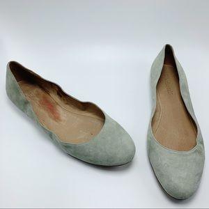 Madewell Suede Ballet Flats